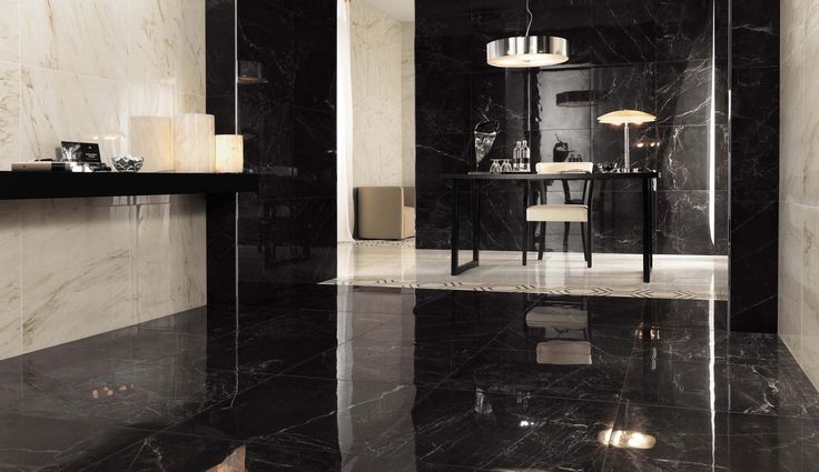 Minoli Tiles Evolution Marvel Noir St Laurent Is An
