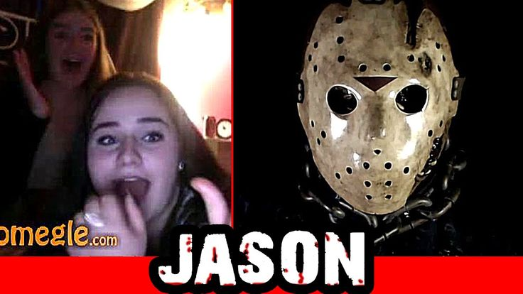 Jason / Friday the 13th Scare Prank on Omegle!