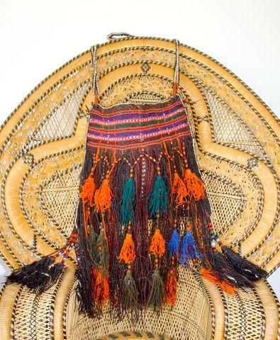 Antique Middle Eastern Handwoven Camel/Saddle Bag Mid Century – Honeywood