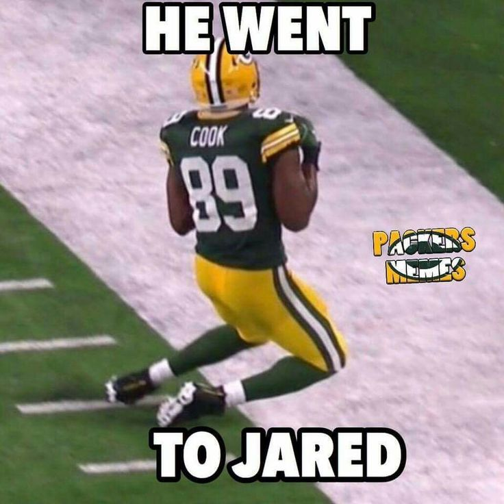 Welcome to the Packers Jarod Cook