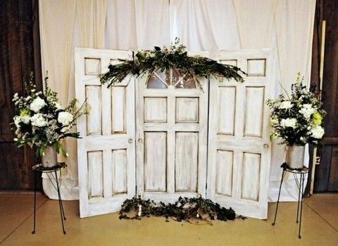 133 Best Wedding Backdrop Ideas With Doors Images On