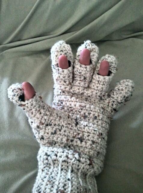 ... crochet - gloves on Pinterest | Mittens, Gloves and Fingerless Mittens