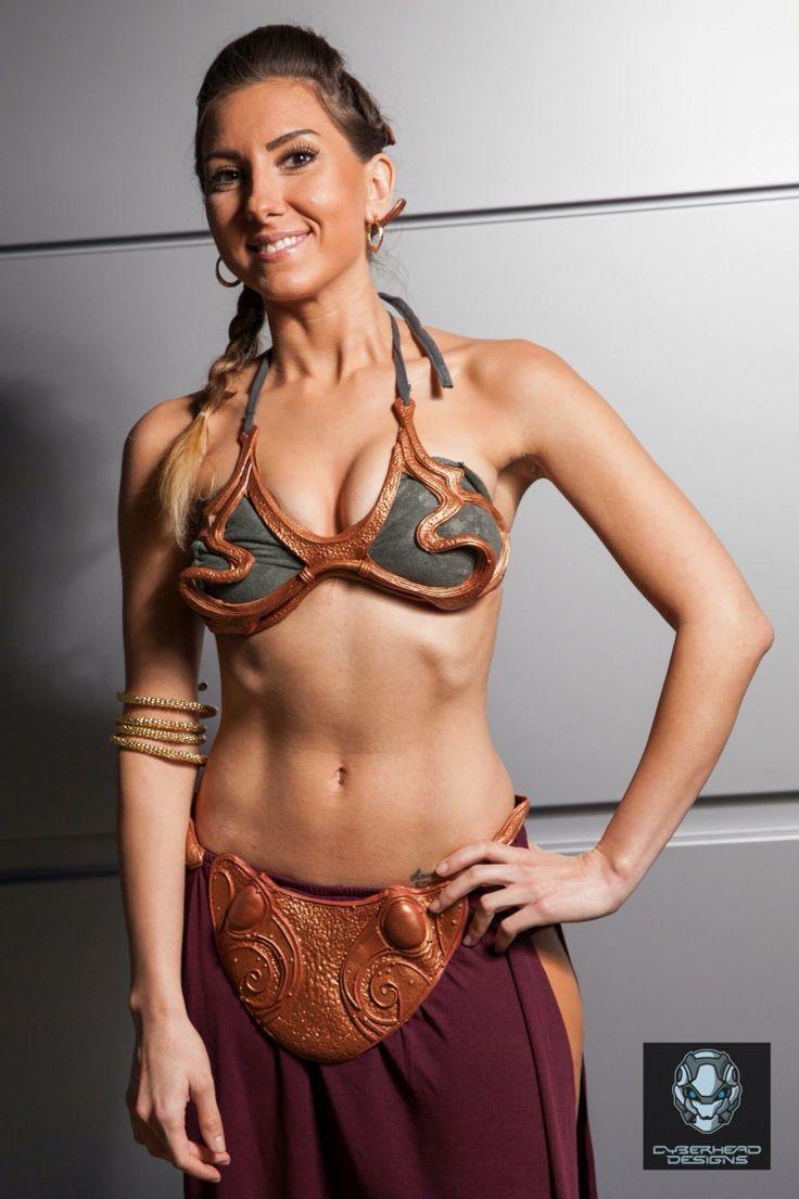 Princess Leia Body Paint