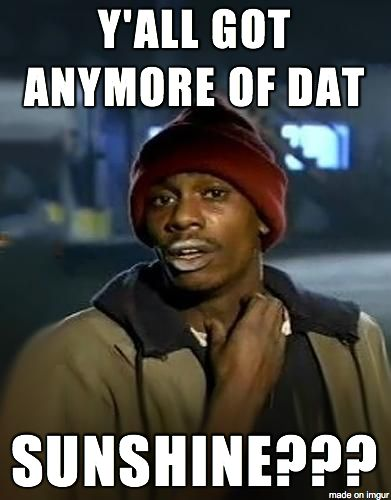 Seattle area right now...