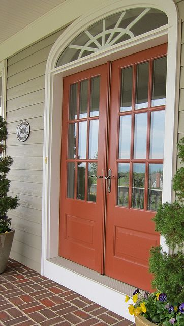 1000 Images About Front Door Colors With Cream House On