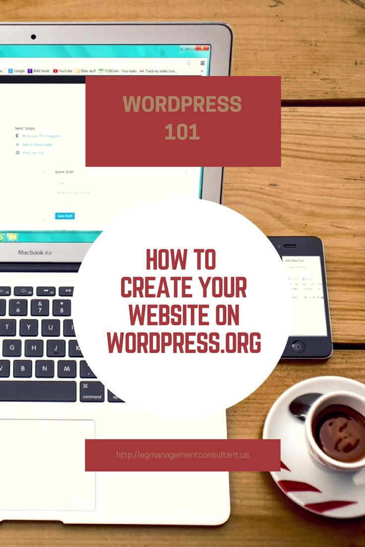 If you are considering WordPress for your website, there are a couple of things you should know. First, there are 2 different kinds of WordPress. There is WordPress.com which is the free blog version. They have upgrades but they will not give you the same control over your website. Then there is WordPress.org. If you want a WordPress website, then you want a WordPress.org site. This is the self-hosted type of website. Here is a little bit on how to create your website on WordPress.Org.