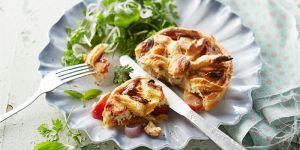 Op zoek naar een lekker quiche recept? Met onze recepten maak je de lekkerste hartige taart en quiche in jouw eigen keuken.