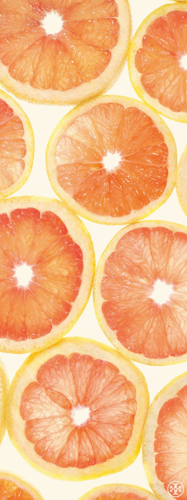 Crisp grapefruit, a citrus note from Tory's first fragrance