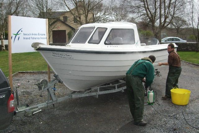 Biosecurity - Inland Fisheries Ireland recently launched two new biosecurity protocols. These detail the correct procedures that should be taken to disinfect tackle or equipment that could act as a vector in the spread of invasive species or harmful fish pathogens. One is for the 'Disinfection of Angling Equipment' and the other describes procedures for the 'Disinfection of Boats and Boating Equipment'.http://www.fisheriesireland.ie/Biosecurity/biosecurity.html