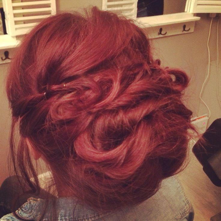 Boho bridesmaids hair