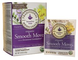 Organic Smooth Move Tea caffeine free I swear by this stuff! It's Melissa approved!