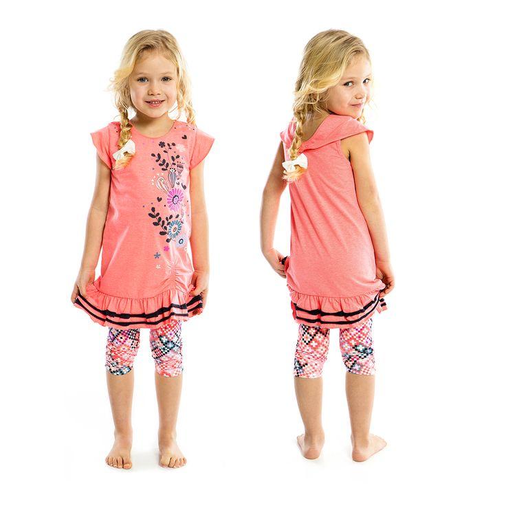 Nanö Collection VENT DU DÉSERT Printemps-été 2017. Prêt-à-porter filles 2 à 12 ans. / DESERT BREEZE Spring-summer 2017. Sportswear girls 2 to 12 years.