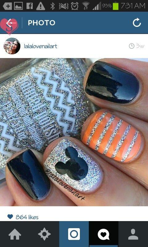 14 best ::: Disney Nails ::: images on Pinterest   Disney nails ...