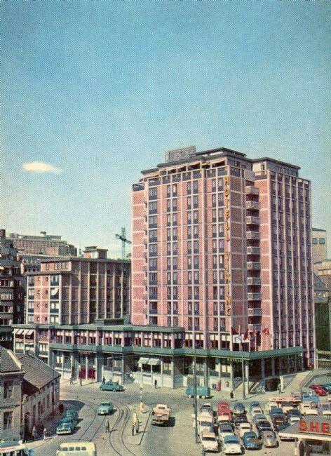 Oslo Hotell Viking 1950-tallet Utg  Trading Company