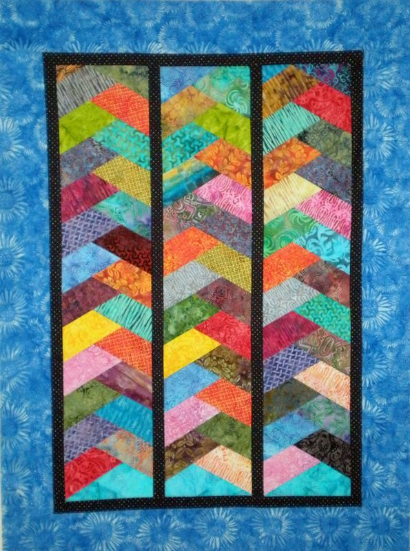 Free Quilt Pattern For Hexagon : half hexagon braid quilt :) Quilting & Sewing Pinterest Depression, Quilt and The o jays