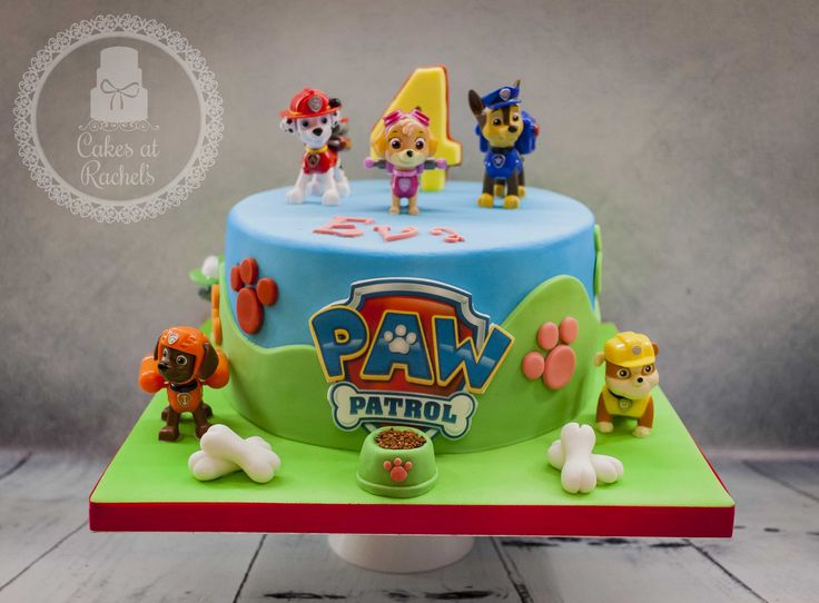 Paw Patrol cake www.facebook.com/Cakes.at.Rachels