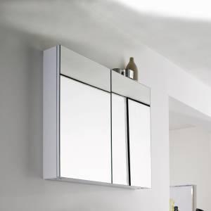 Armoire miroir de Salle de Bains 900 x 730mm