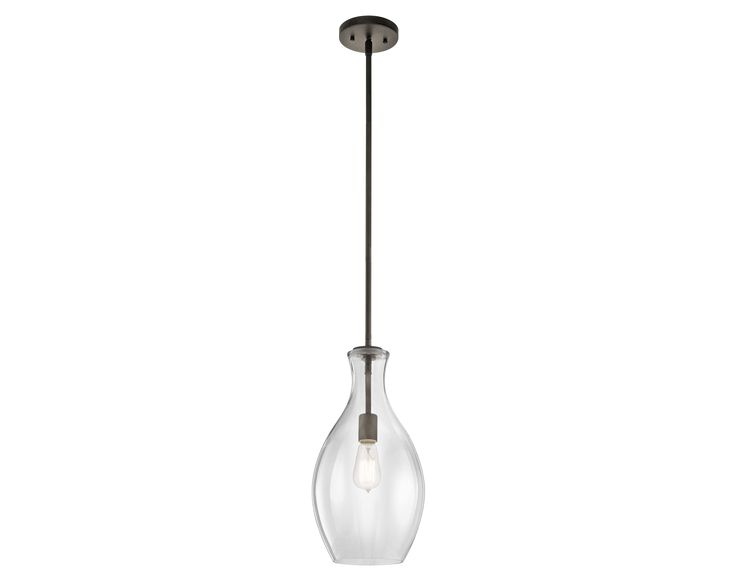 Kichler Everly 1 Light Olde Bronze (42047OZ) | Pendant Lighting