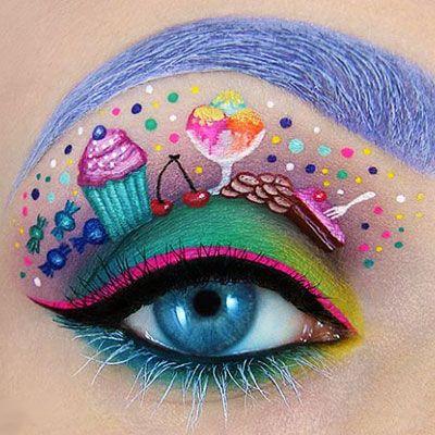 Erre mondják, hogy művészi: fantasztikus sminkek a szemhéjon