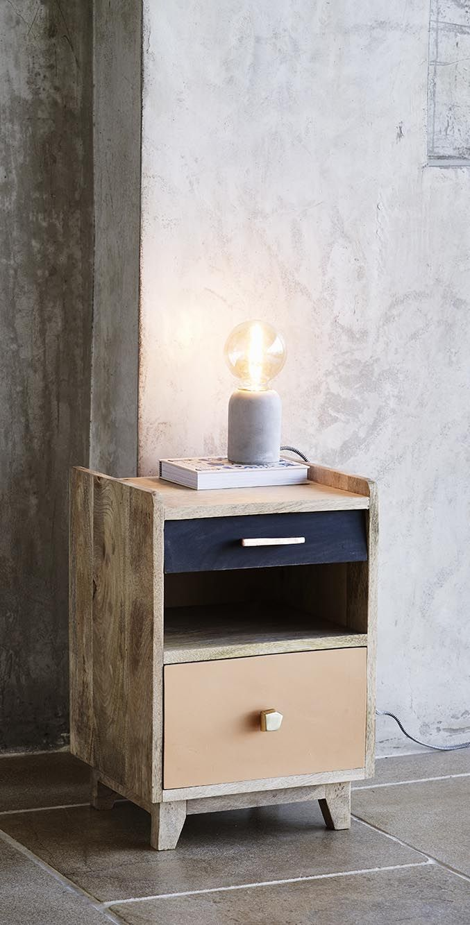 Take the lead and style up your space with our Nelly Bedside Cabinet.