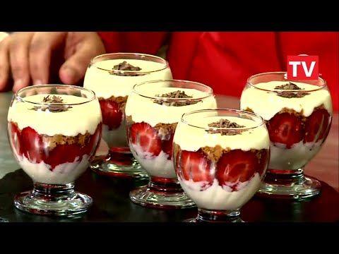 Samira tv tiramisu aux fraises et chocolat recette cuisine dz samira tv samira tv for Ab cuisine algerie