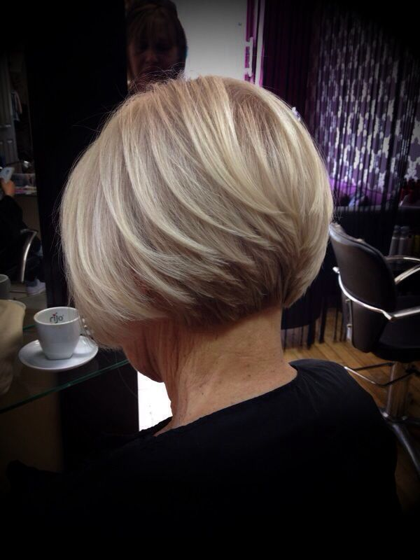 Classic Graduated Bob By Emma Www.glosshairdressing.co.uk