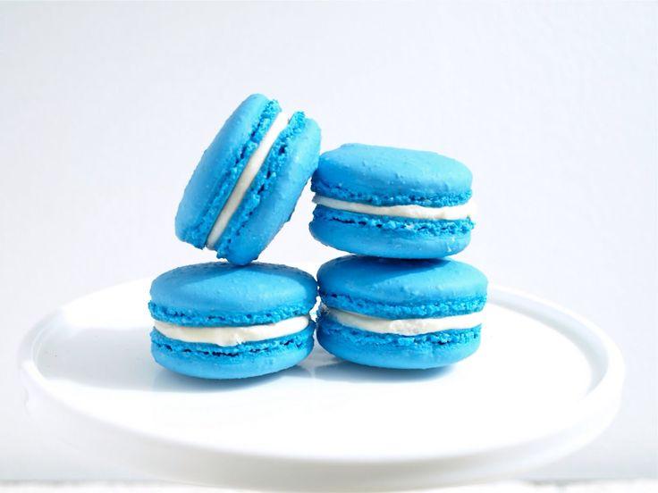 America blue macrons