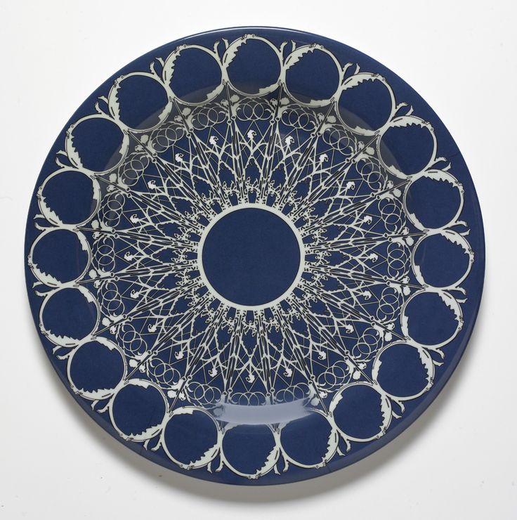Louis Minuit Heavy-Duty melamine plates 12 inch diameter by Bongenre & 51 best Bongenre.com Patterns images on Pinterest | Dishes Mandalas ...