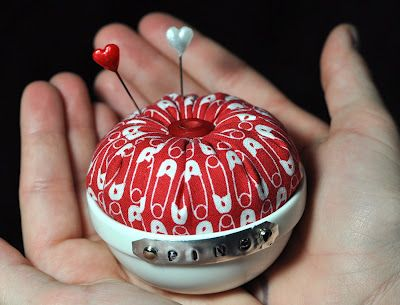 Cute pincushion- tutorial includes all steps and instructions