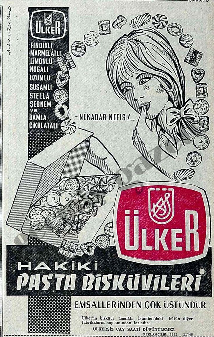 Hakiki Pasta Bisküvileri emsallerinden çok üstündür 1966