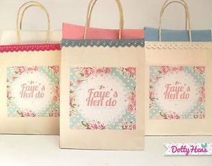 Hen Party Favour gift bags