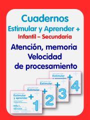 Estimular y Aprender Más: atención, memoria, Velocidad de Procesamiento