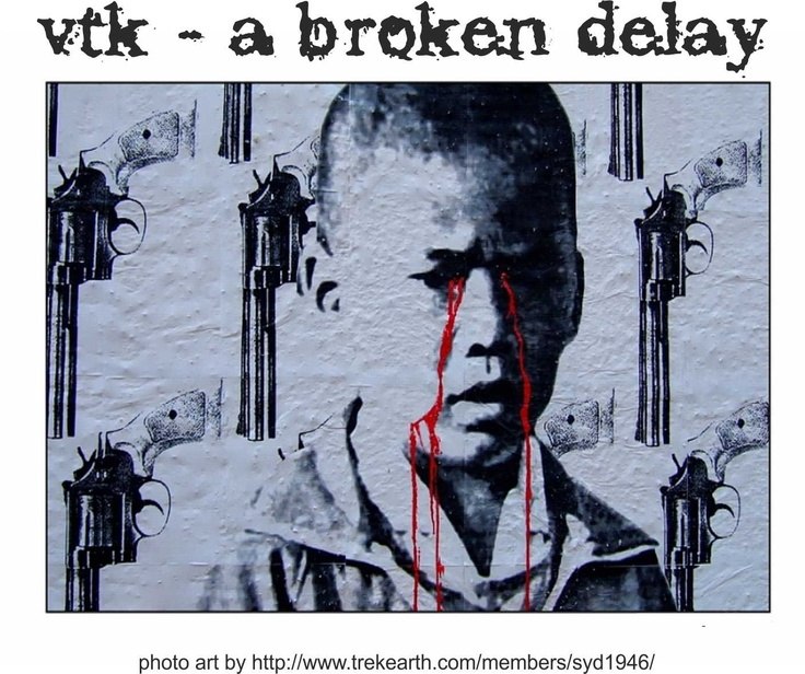 """""""A broken delay"""" brings out a darker style, with a little vengeance..."""