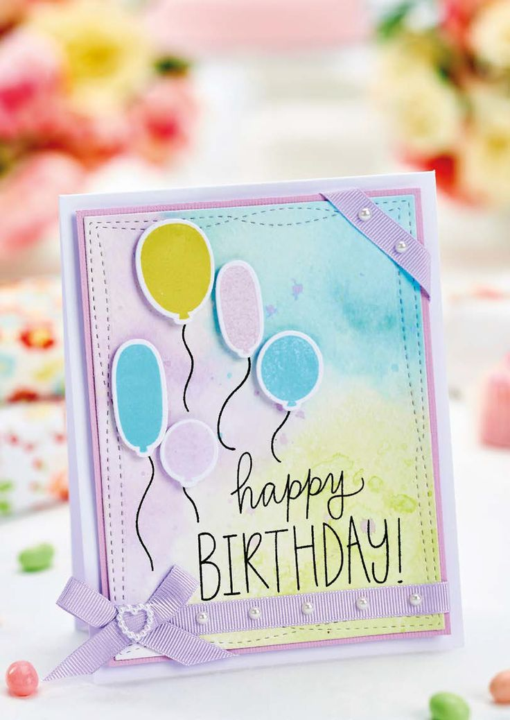 Make A Cute Whimsical Birthday Greeting Card Free Printable Birthday Cards Card Making