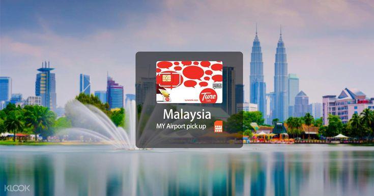 [SALE] 4G SIM Card (Kuala Lumpur International Airport 2 Pick Up) for Malaysia