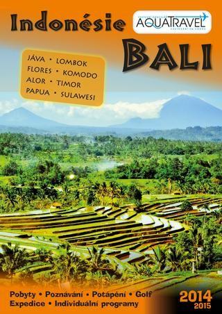 Potápění na Bali? Prolistujte si nový katalog CK AQUATRAVEL pro rok 2014, kde naleznete i dvě česká potápěčská centra na Bali.