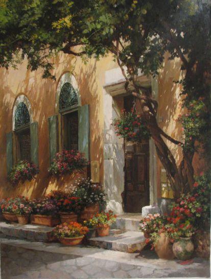 The Art of Paul Guy Gantner ---------- Charle's house
