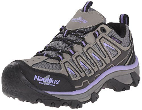Nautilus Safety Footwear Womens 2258 Work Shoe Grey 9 M US * To view further for this item, visit the image link.