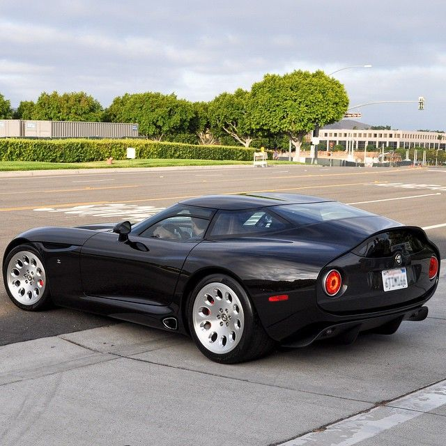 Super Rare Alfa Romeo Tz3 By Zagato With An 8.4L V10