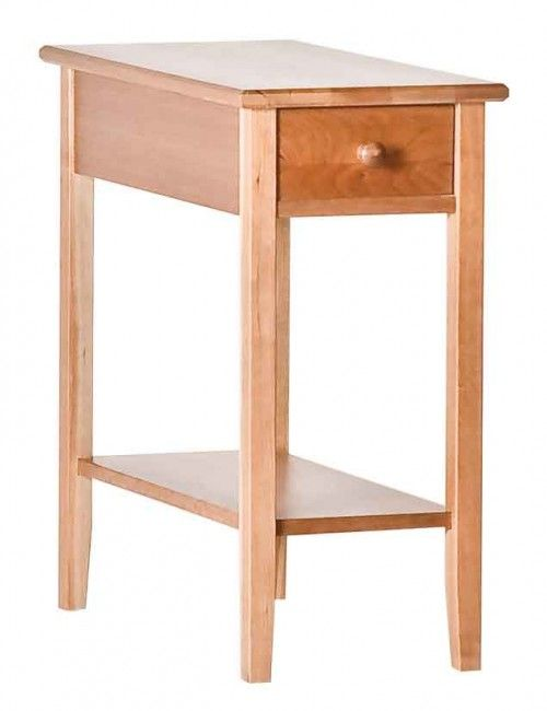 Charming The Shaker Narrow Side Table Is The Perfect Choice For A Small Space That  Needs A Bit Of Storage.