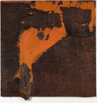 'Slump/Fear (orange/black) 2004', Alexis Harding John Moores First Prize Winner (liverpoolmuseums.org, 2013)
