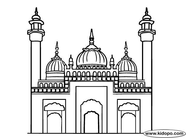 """al kaaba coluring pages colouring pages Kaaf """"ك"""" kabba, كعبة ..."""