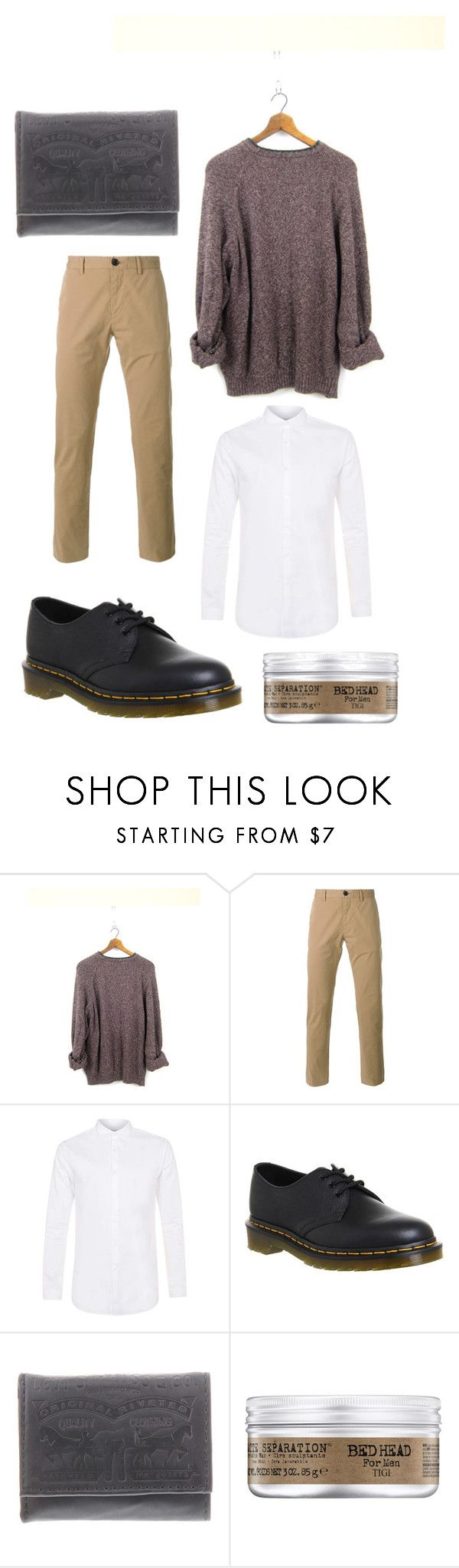 """""""Chic look"""" by morena-jacques ❤ liked on Polyvore featuring Columbia, PS Paul Smith, Topman, Dr. Martens, Levi's, men's fashion and menswear"""