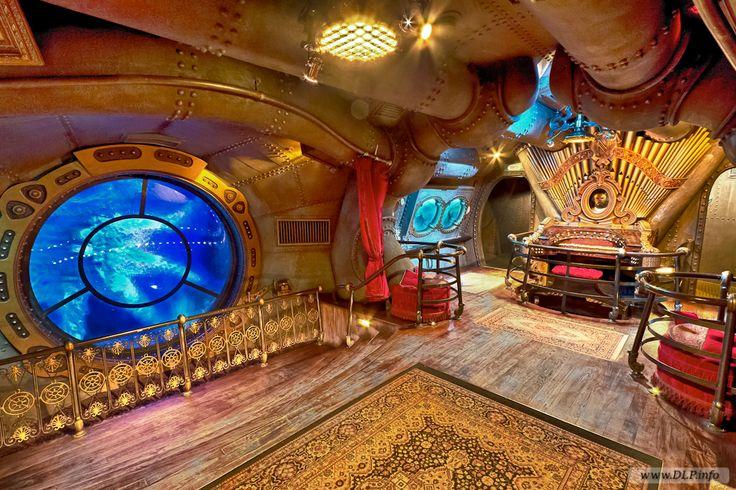 captain nemo's submarine interior images - Google Search
