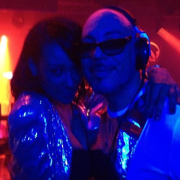 Lisa Maffia & Roger Sanchez at Release Yourself 19.05.12 - by @lisamaffiauk (Lisa Maffia)