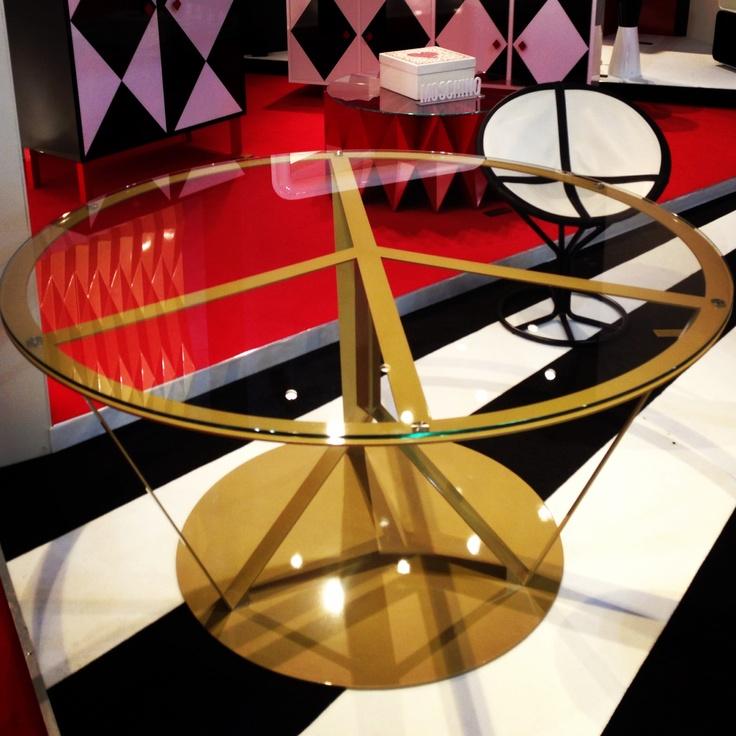 #pace table, design Garilab by Piter Perbellini for #altreforme @iSaloni 2013 #interior #home #decor #homedecor #furniture #aluminium