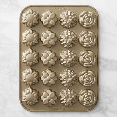 Nordic Ware Flower Petits Fours Pan #williamssonoma