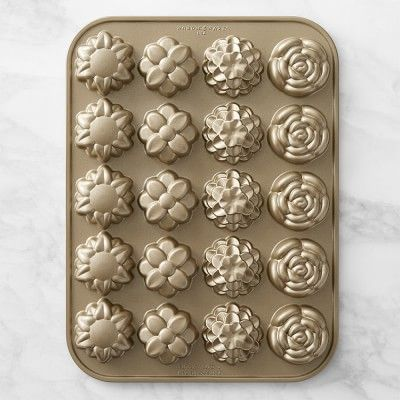 Nordic Ware Flower Petits Fours Pan | Williams-Sonoma
