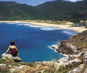 Praia Lagoinha do Leste - Foto: Cleide de Oliveria - Santa Catarina