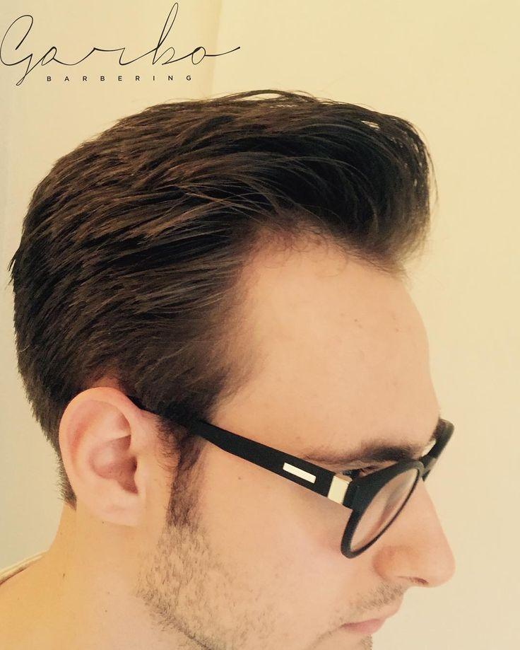 @andreagiberti riassettato direi ne che ne avevamo bisogno  --- #garbobarbering #uomo #taglio #capelli #sfumatureneicapelli #nuovotaglio #nuovo #moda #tendenza #barberia #instahair #gropellocairoli #garlasco #vigevano #pavia #milano